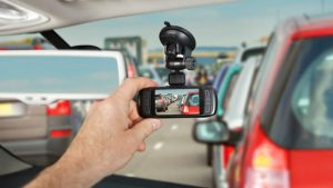 Image of a dash cam
